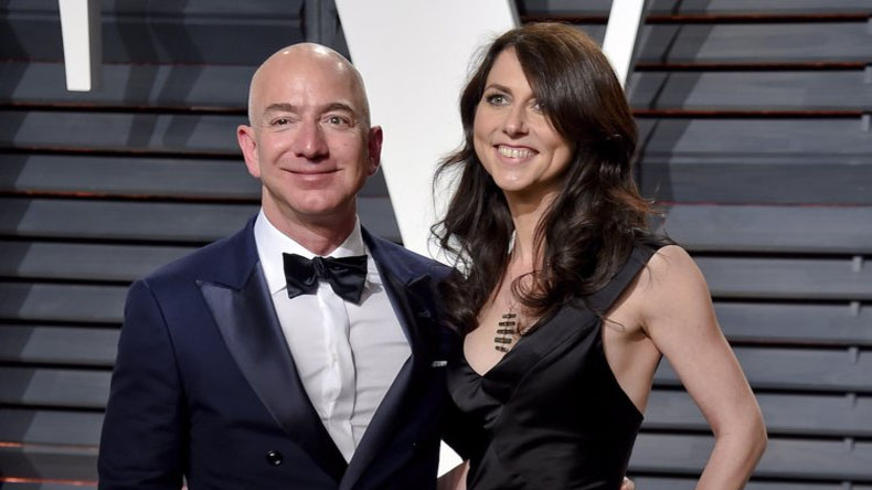 Jeff Bezos, MacKenzie Bezos, Jeff Bezos Divorce, Amazon.com, reason for Amazon CEO divorce
