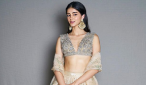 Ananya Panday's classy shimmery dress is a must watch, see here!