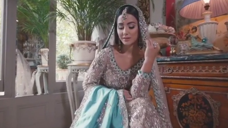Hina Khan Looks Like A Fashion Queen In Asian Wedding Cover Shoot