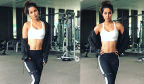 Kasautii Zindagii Kay actor Hina Khan workout pic is worth a watch, have a look