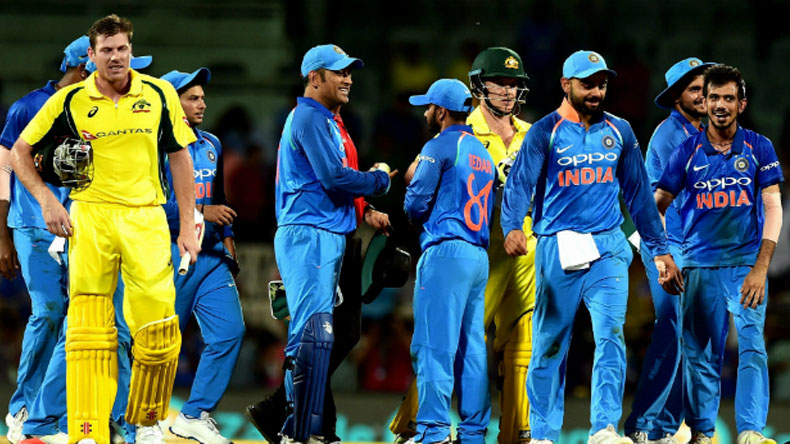 Team India players