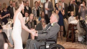 father daughter dance, Terminally Ill Father daughter Wedding dance, wedding dance, father daughter wedding dance, viral video, trending news, trending globally