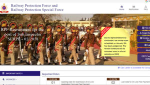 RPF SI 2018 Group C Admit Card, RPF SI 2018 Group D Admit Card, si.rpfonlinereg.org, Railway Protection Special Force, RPF Phase 2 exam, RPF Phase 3 exam, RPSF Phase 2 exam, RPSF Phase 3 exam, RPF SI 2018 exam, RPF Sub-Inspector 2018 Call Letter