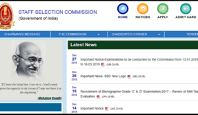 SSC Posts Phase-VI 2018 exams: Check out Memory based current affairs and GK questions