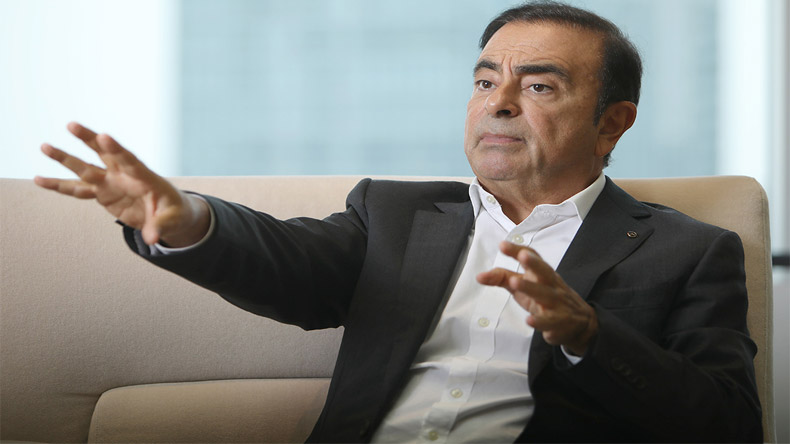 carlos ghosn, renault ceo, renault chairman, nissan, mitsubishi, france car maker