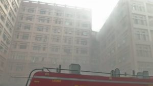 delhi fire, Pragati Vihar fire, pragati vihar cgo building fire, delhi major fire, national news, india news