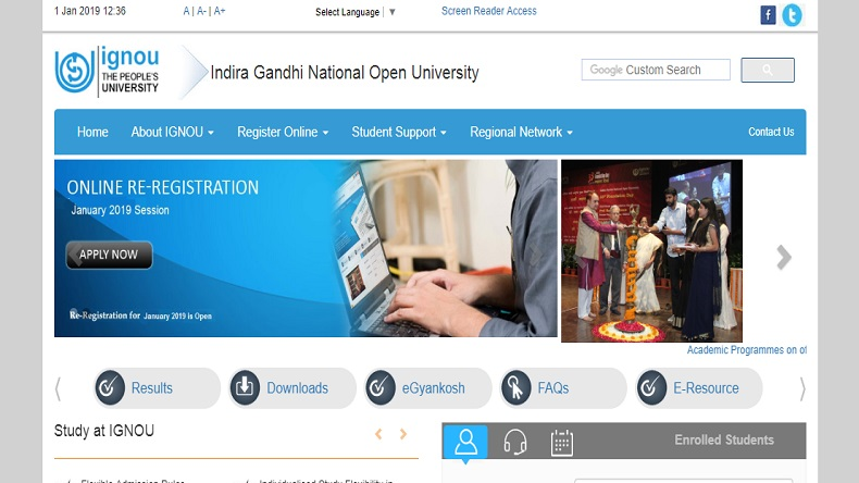 IGNOU, IGNOU official website, IGNOU december term examination, ignou.ac.in, IGNOU december term exam result, IGNOU december term examination result, Important instruction for December exam term,