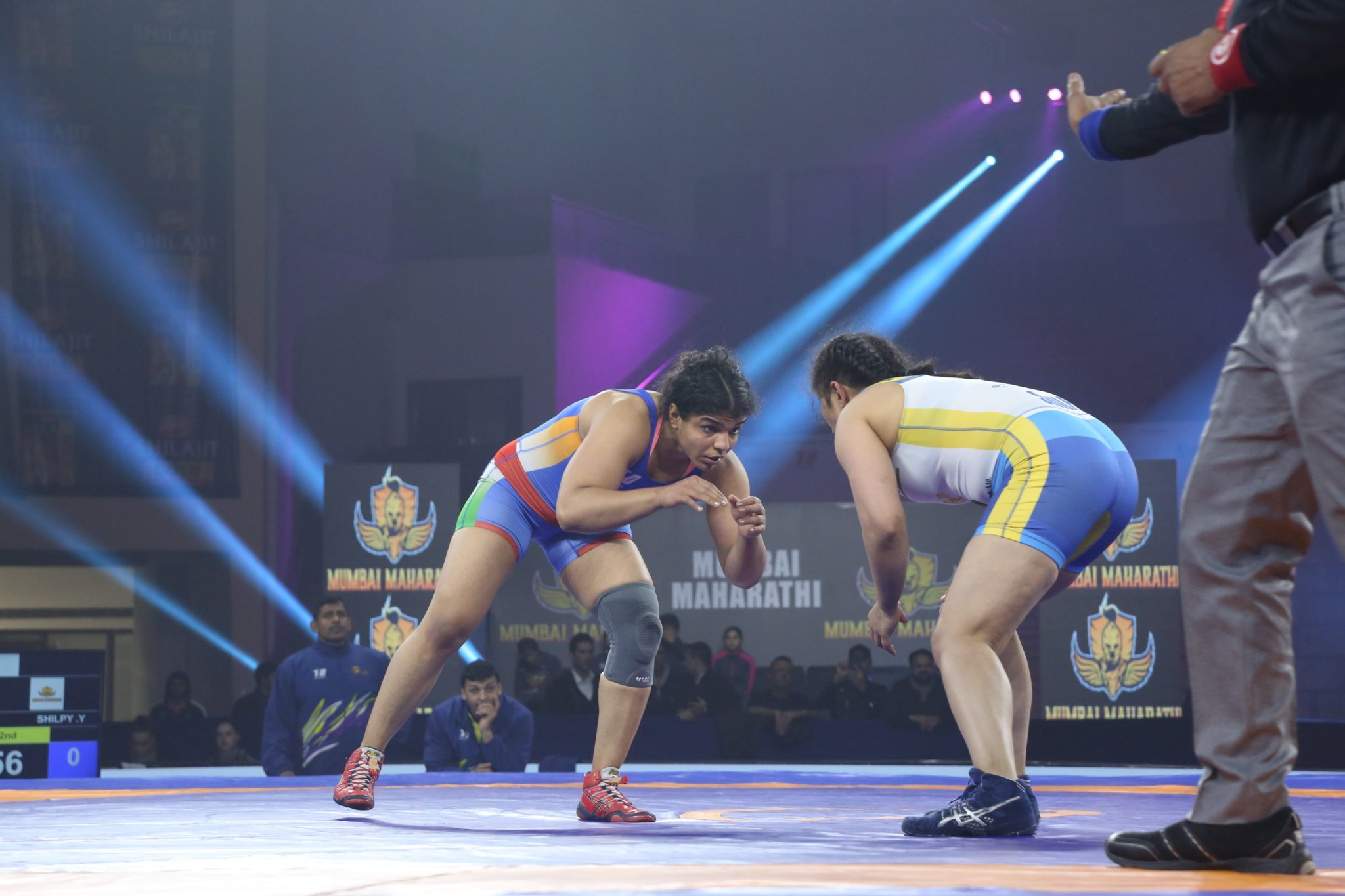 2016 Rio Olympic Bronze medallist Sakshi Malik helped Delhi Sultans cruise through the semi-finals with a win against Shilpi Yadav of Mumbai Maharathi