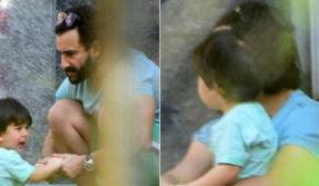 Taimur Ali Khan is crying and we wonder why?