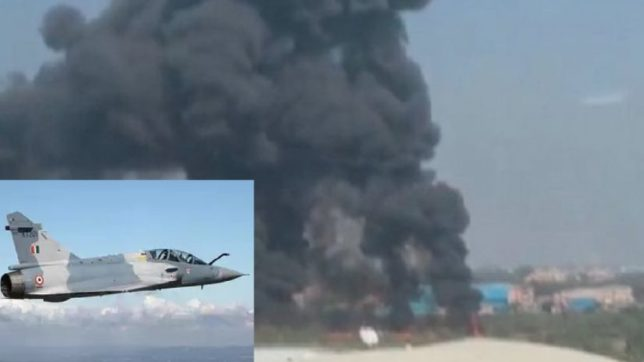 Indian air force plane crashed, 2 IAF mirage pilots killed; who'll save the IAF?