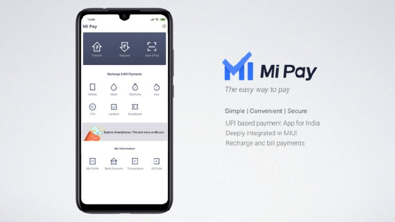 mi pay india launch upi payments app xiaomi, mi pay, mi apps, upi, unified payments interface, npci, Xiaomi's UPI-based app, Mi Pay debuts in India, xiaomi Mi Pay, Redmi go launch event