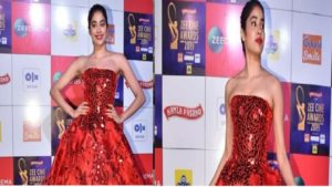 Janhvi kapoor, Zee Cine Awards 2019, Janhvi kapoor red gown photos, Janhvi kapoor photos, Janhvi kapoor latest photos, Janhvi kapoor Instagram photos, Janhvi kapoor New photos, Janhvi kapoor latest photos,
