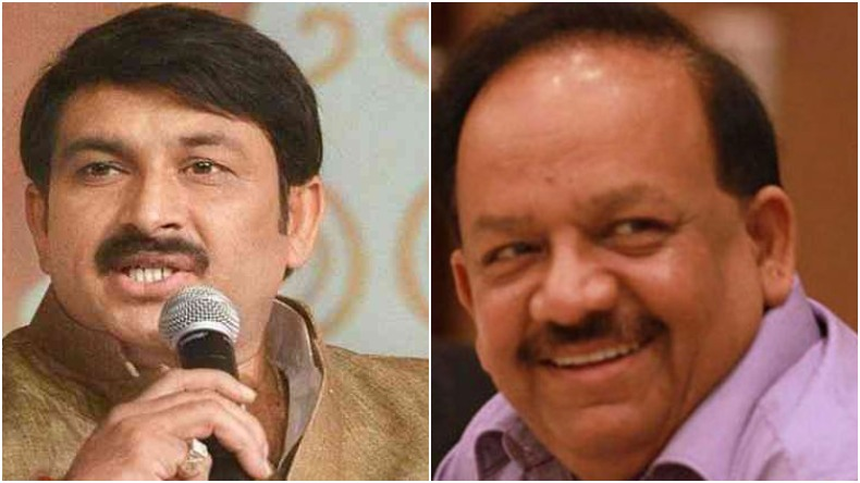 BJP releases another list, Manoj Tiwari to contest from North East Delhi, Harsh Vardhan from Chandni Chowk