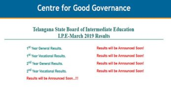 Telangana TS inter result 2019 on 18th April, today: Every