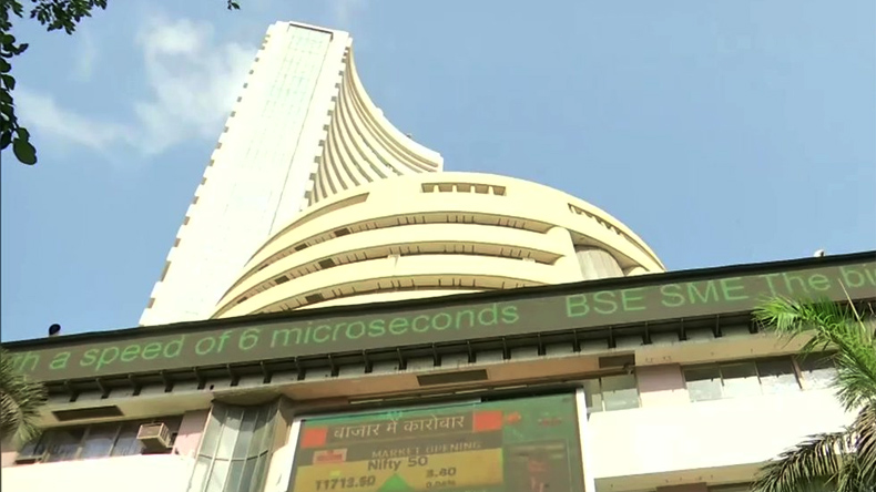 File photo of the Bombay Stock Exchange (BSE).