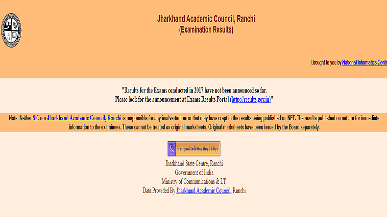 JAC 12th Result 2019: Jharkhand Board Class 12th Science, Commerce results declared at jharresults.nic.in, check how to download