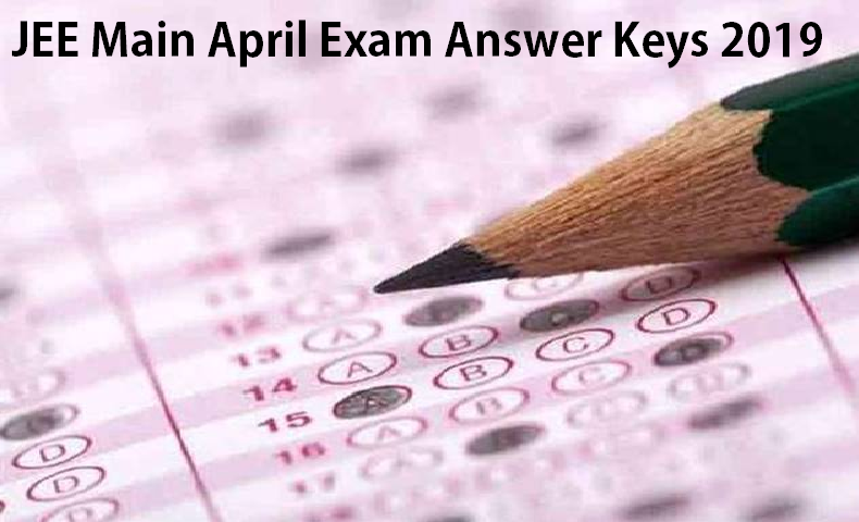 JEE Main Result 2019 Answer Keys