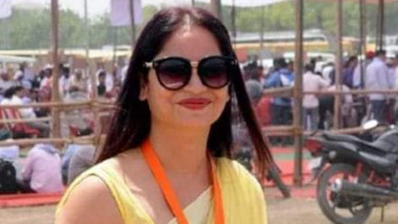 Reena Dwivedi is a PWD employee in Lucknow and she hails from Deoria (UP).