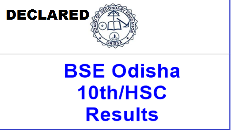 BSE Odisha Board 10th Result 2019 declared: Pass percenatge declines to 70.78% from last year's 75% @ bseodisha.nic.in, orissaresults.nic.in.
