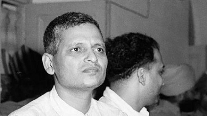 Why does Google Knowledge Search call Mahatma Gandhi killer Nathuram Godse an advocate of Hindu nationalism and not as Gandhi killer?