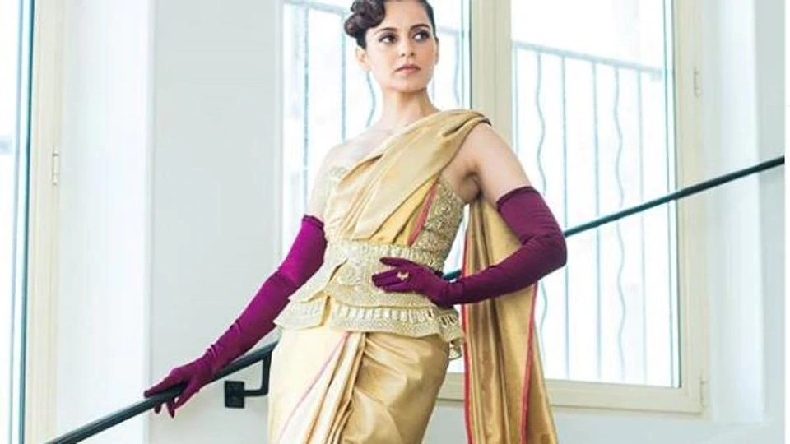 Cannes 2019: Kangana Ranaut stuns in corset and Kanjeevaram saree
