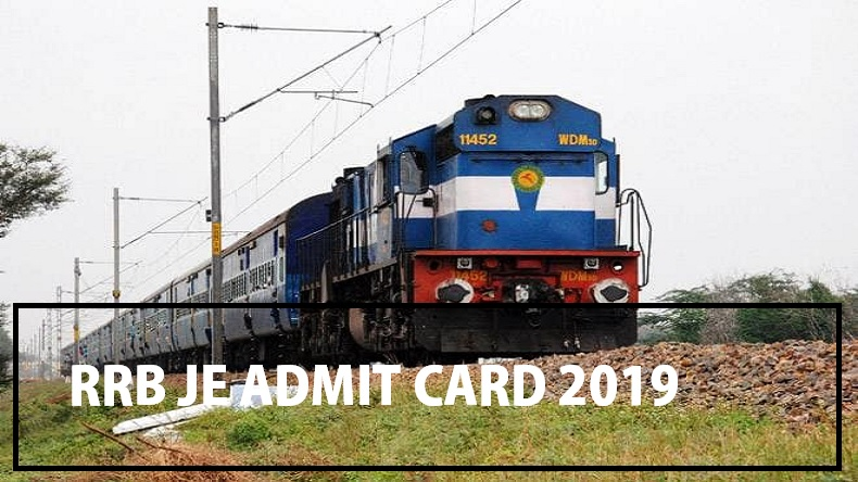 RRB je admit card 2019, RRB hall ticket 2019 junior engineering post, rrbcdg.gov.in, railway recruitment board 2019, rrb admit card 2019, junior engineering post admit card rrb,