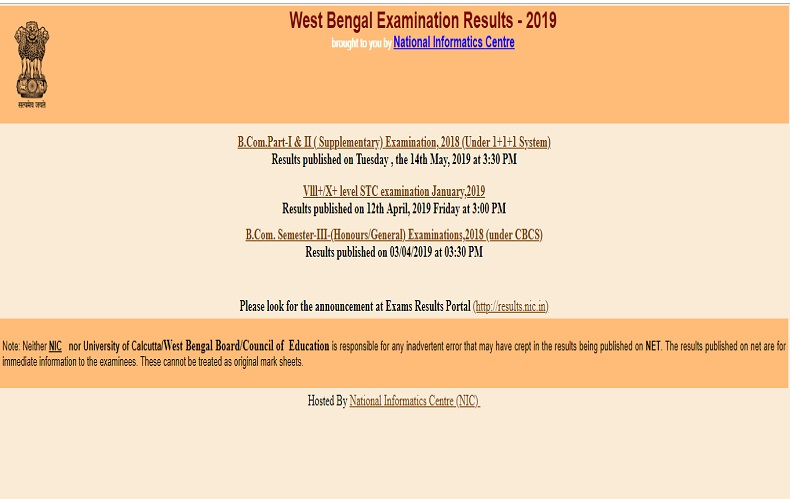 West Bengal Madrasah class 12 result: WBBME declares Class12 results @ wbresults.nic.in