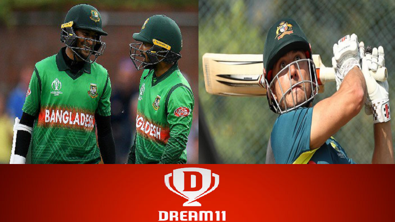 Australia vs Bangladesh ICC Cricket World Cup 2019 Dream 11 Prediction: How to play Dream 11, Australia vs Bangladesh match preview best inform players for playing XI