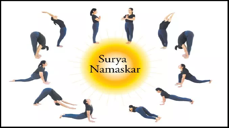 International Yoga Day 2019: PM Modi recommends Surya Namaskar be made part of life, check out the steps and its benefits