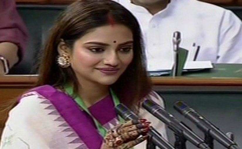 Nusrat Jahan trolled for wearing sindoor, Trinamool MP delivers knock-out quote