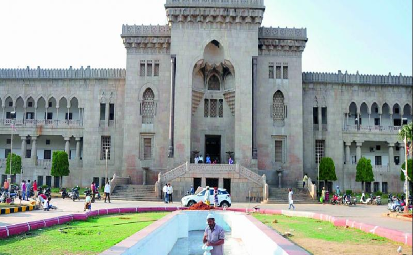 Osmania University annual result 2019