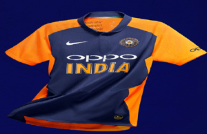 Team India's orange jersey for England match is here