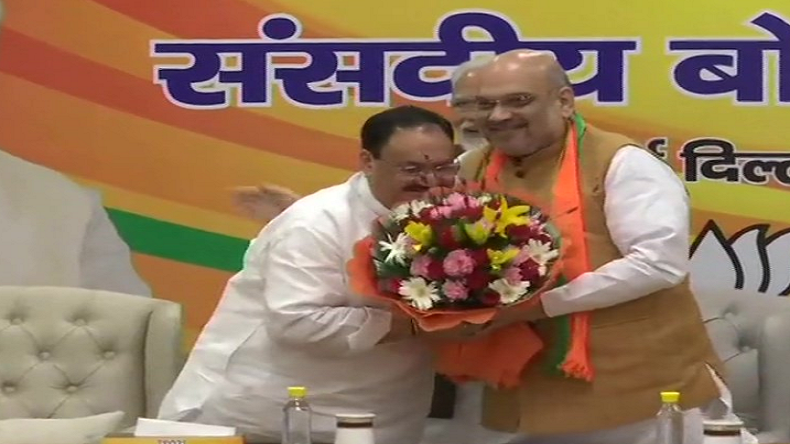 JP Nadda, BJP, Amit Shah, JP Nadda to be working president of BJP