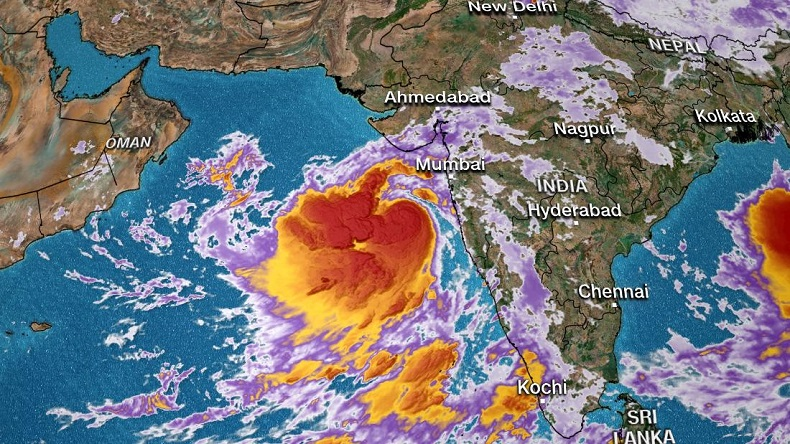 Cyclone Vayu likely to change trajectory and move towards Gujarat again, confirms government