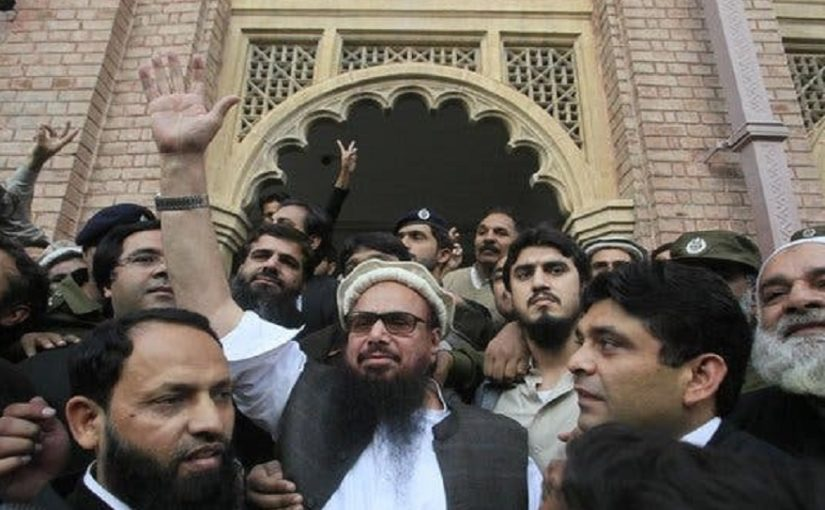 Pakistan books Hafiz Saeed, aides for terror funding