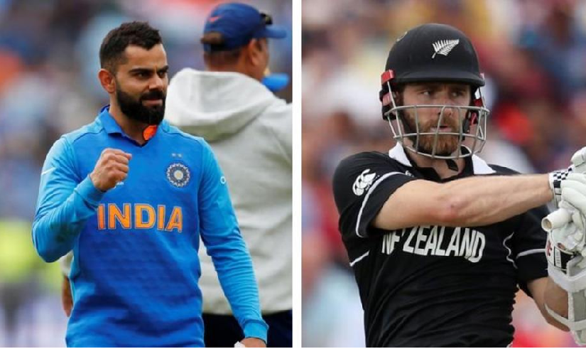 India will face New Zealand in the first Semi-Final on tuesday at Old Trafford