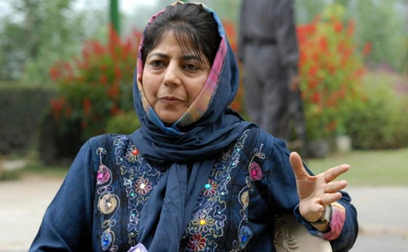Mehbooba Mufti warns Centre not to touch Article 35A, claims meddling with 35A like touching dynamite