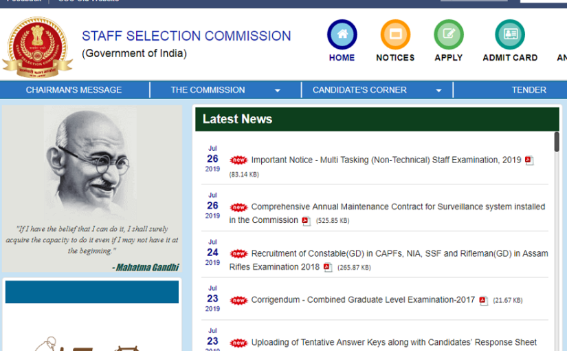 SSC MTS Tier 1 Admit Card out, check how to download
