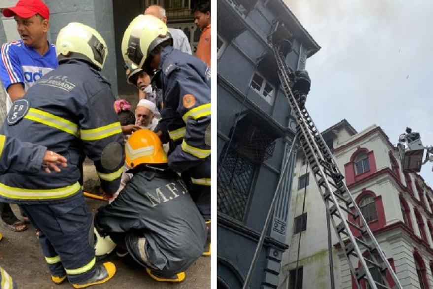 Mumbai Fire, Mumbai near Taj Mahal palace fire, 4-storey building near Taj Mahal hotel fire, Mumbai fire latest news, Colaba fire