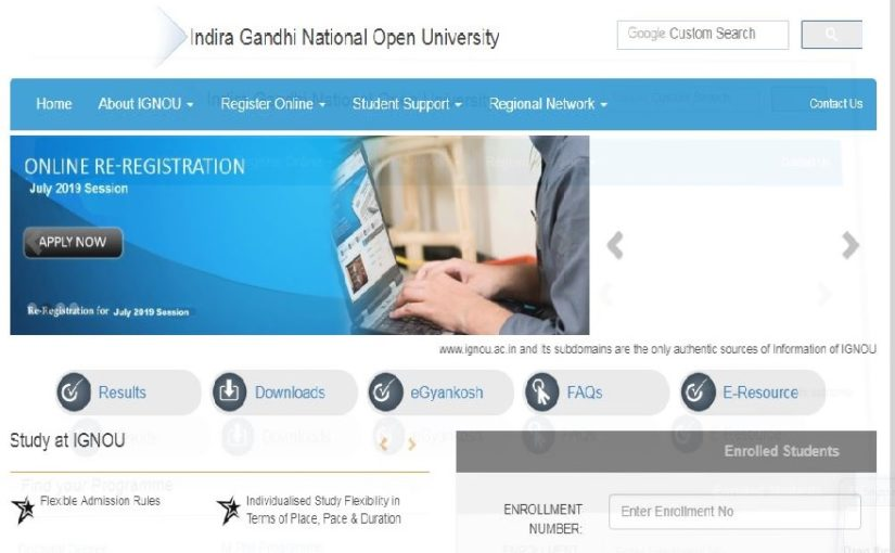 IGNOU June Result 2019