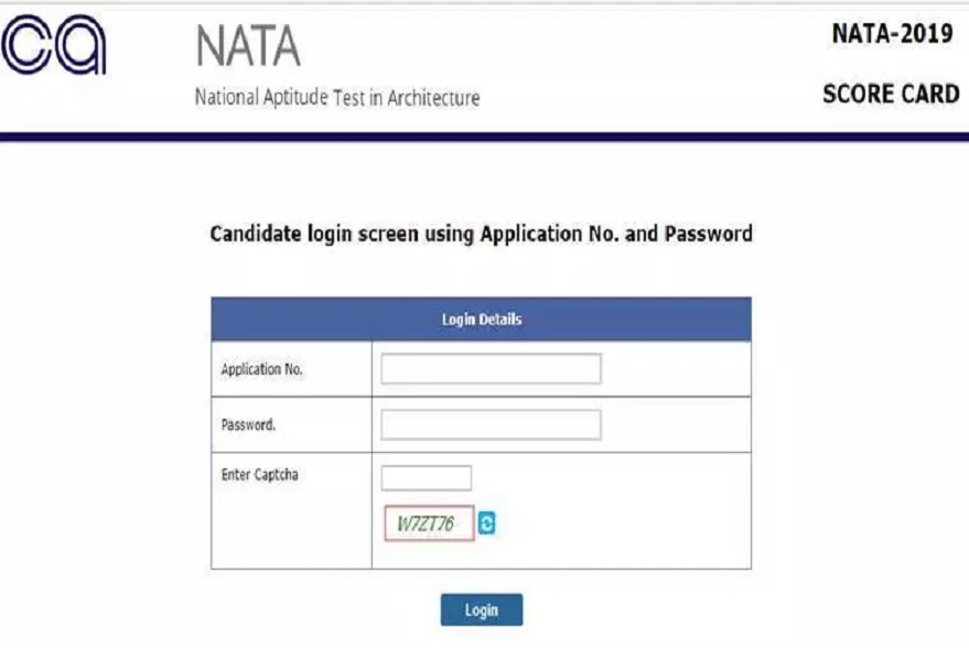 NATA result July 2019, NATA result 2019, July 2019 NATA, Council of Architecture 2019 NATA, nata.in, NATA July 2019 result,