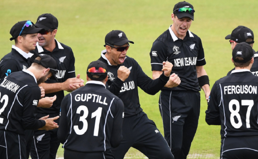 New Zealand beat India by 18 runs at ICC World Cup 2019
