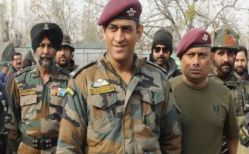 MS Dhoni to serve Army in Kashmir from July 31, to perform patrolling, guard duty