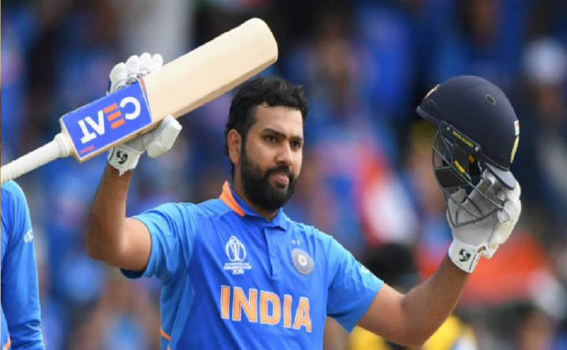 Rohit Sharma sets world record, becomes Ist batsman to hit 5 centuries in a single World Cup