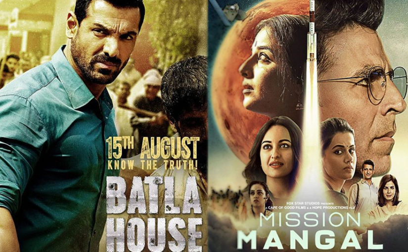 Independence Day box office clash: Mission Mangal receives positive reviews, Batla House takes a flying start