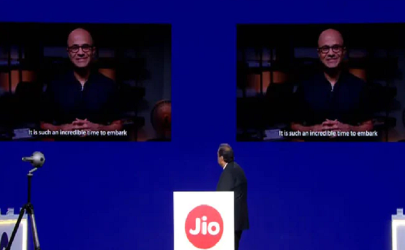 Reliance AGM 2019: This is what Microsoft CEO Satya Nadella promised India with its partnership with RIL