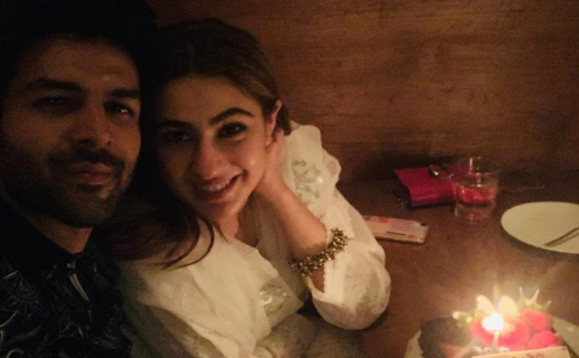 Kartik Aaryan makes it official with a mushy post for Sara Ali Khan on her birthday, see photo