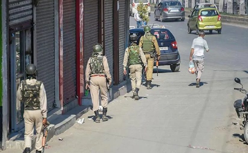 Government denies the originality of the conflicting videos on Srinagar by international media