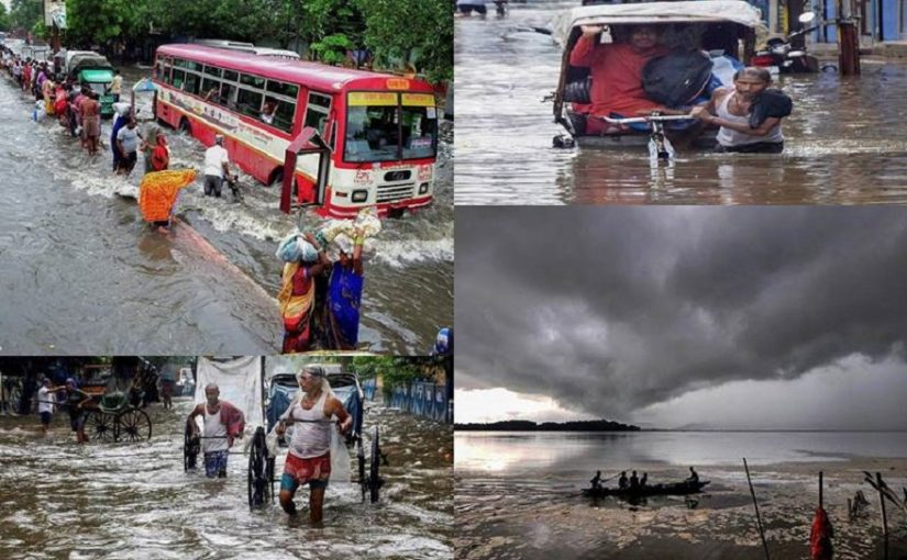 Torrential rainfall and landslides hit normal life in Kerala, Maharashtra and several other states