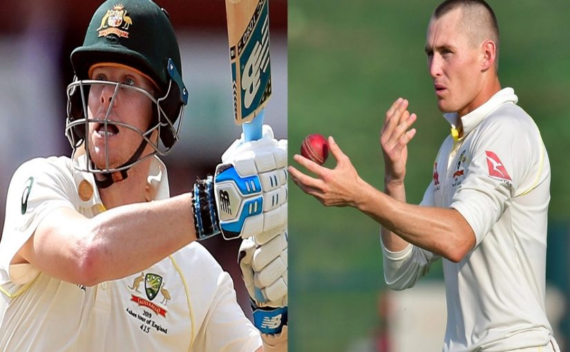 Marnus Labuschagne becomes world's first concussion substitute for Steve Smith